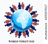vector illustration of world... | Shutterstock .eps vector #339207017