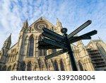 York Minster  England  Uk