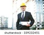 business portrait of contractor ... | Shutterstock . vector #339232451