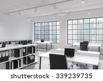 workplaces in a bright modern... | Shutterstock . vector #339239735