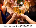 image of women's hands with... | Shutterstock . vector #339265919