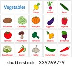 vector illustration   cards... | Shutterstock .eps vector #339269729