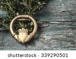 Claddagh And Holly Branches ...