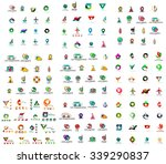 mega set of geomeric company...   Shutterstock .eps vector #339290837