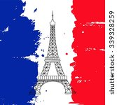 vector french architecture...   Shutterstock .eps vector #339328259