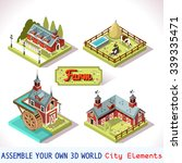 Isometric Building Farm...