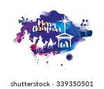 vector illustration birth of... | Shutterstock .eps vector #339350501