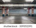 parking garage interior ... | Shutterstock . vector #339352391