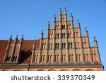 Stock photo old town hall altes rathaus in hannover germany 339370349