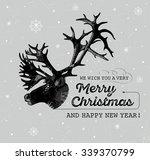 vector illustration of head of... | Shutterstock .eps vector #339370799