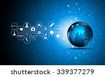 vector abstract background...   Shutterstock .eps vector #339377279