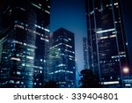 abstract futuristic night... | Shutterstock . vector #339404801