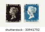 The First And Second Stamps Of...
