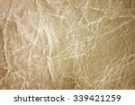old beautiful leather texture... | Shutterstock . vector #339421259