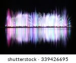 Dancing Colorful Fountain With...