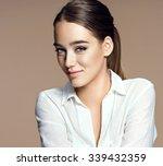 Beautiful Sensual Woman Face ...