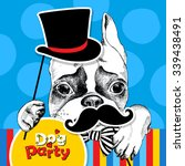 bright festival poster.... | Shutterstock .eps vector #339438491