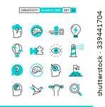creativity  imagination ... | Shutterstock .eps vector #339441704