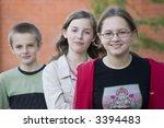 teenagers   Shutterstock . vector #3394483