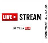 Live Stream Icon  Emblem  Logo.