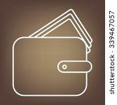 wallet vector illustration.... | Shutterstock .eps vector #339467057