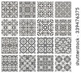 Vector Set Of 16 Seamless...