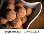 Chocolate Truffles With Cocoa...