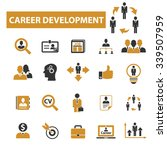 career development  icons ... | Shutterstock .eps vector #339507959