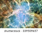 night sky with clouds stars... | Shutterstock . vector #339509657