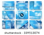 abstract composition  business...   Shutterstock .eps vector #339513074