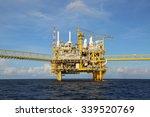 offshore construction platform... | Shutterstock . vector #339520769