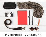 travel concept   set of cool... | Shutterstock . vector #339525749