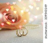 wedding ring  | Shutterstock . vector #339543149