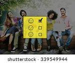 evaluate evaluating evaluation... | Shutterstock . vector #339549944