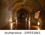 Stone Buddha Inside Tunnel At...