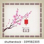 Oriental Paper Lantern  Plum...