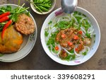 banh canh noodle with fish in... | Shutterstock . vector #339608291