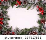 Border  Frame From Christmas...