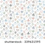 seamless pattern background... | Shutterstock .eps vector #339631595