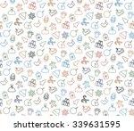 seamless pattern background... | Shutterstock .eps vector #339631595