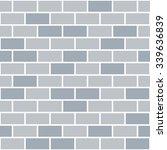 brick wall seamless pattern... | Shutterstock .eps vector #339636839