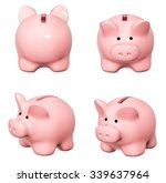 collection of piggy banks from... | Shutterstock . vector #339637964