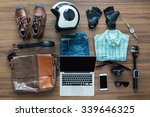 freelancer needs mock up on... | Shutterstock . vector #339646325