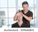 perfect professional massage ... | Shutterstock . vector #339646841