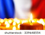 lots of candles in front of the ... | Shutterstock . vector #339648554