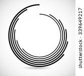 technology geometric circle... | Shutterstock .eps vector #339649217