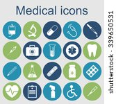 medical icons. medical... | Shutterstock .eps vector #339650531
