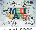 health concept  painted... | Shutterstock . vector #339668099