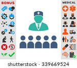 medical class vector icon with... | Shutterstock .eps vector #339669524