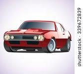 vector sports car   Shutterstock .eps vector #339672839